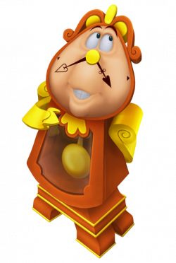 Cogsworth Beauty and the Beast Cartoon Transparent Image | Gallery ...