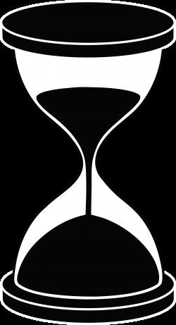 Hourglass Silhouette - Free Clip Art