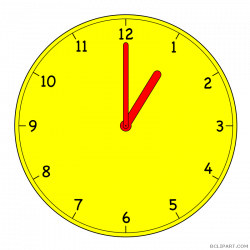 Analog Clock Clipart - BClipart
