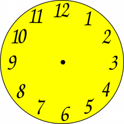 Clock Clip Art at Clker.com - vector clip art online, royalty free ...