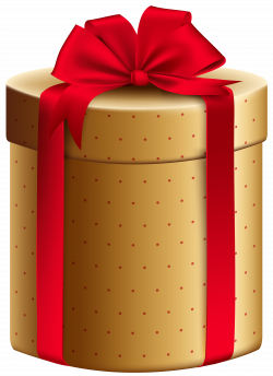 Gold Red Gift Box PNG Clipart Image | Gallery Yopriceville - High ...