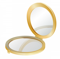 Gold Compact Mirror PNG Clipart Picture | Clip Art | Pinterest ...