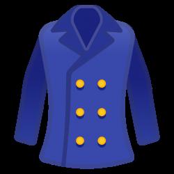 Coat Icon | Noto Emoji Clothing & Objects Iconset | Google