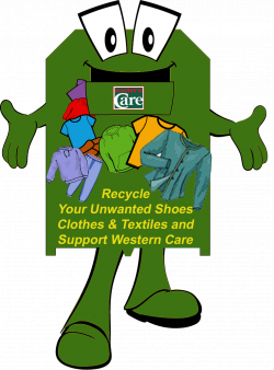 Fundraising Ireland Western Care Mayo - Clothing Textile Recycling