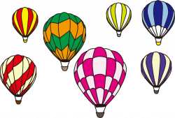 Hot Air Balloon Scene Minus Background Icons PNG - Free PNG and ...