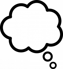 28+ Collection of Thought Cloud Clipart | High quality, free ...