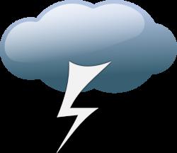 Thunderstorm Weather Symbols Clip Art at Clker.com - vector clip art ...