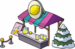 Image - Lemonade stand School & Skate Party.png | Club Penguin Wiki ...