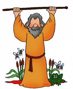 Moses and the Plagues | Philip Martin | Free Bible Clipart | Clipart ...