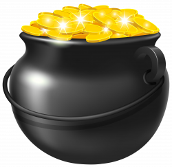 Gigantic Pictures Of A Pot Gold Clipart Transparent Background ...