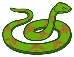 Clipart - snake - coloured