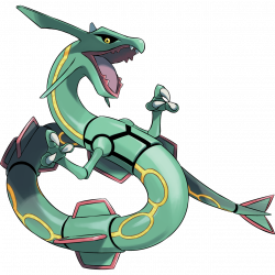 Day 5 Favorite Legendary is Rayquaza! He holds a very special place ...
