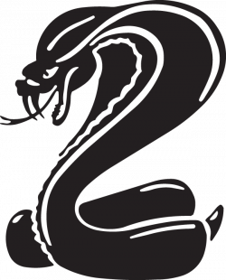 Mean King Cobra Decal
