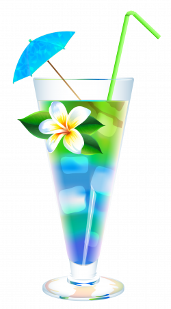 Exotic Summer Cocktail PNG Clipart Image | Clip Art Drinks, Ice ...