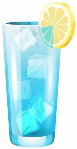 Transparent Blue Cocktail PNG Clipart - Best WEB Clipart