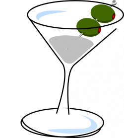 Martini With Olives Clip Art at Clker.com - vector clip art online ...