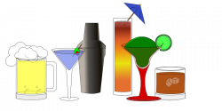 Clipart - Happy Hour Drink Animations