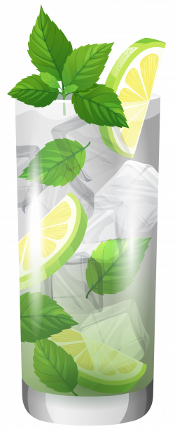 Transparent Cocktail Mojito PNG Clipart - Best WEB Clipart