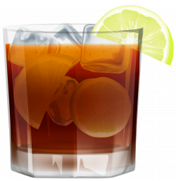 Whiskey withIce and Lemon PNG Clip Art Image | Gallery Yopriceville ...