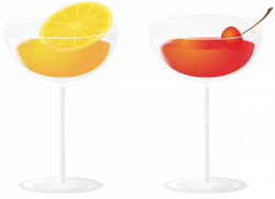 Clipart - Cocktail drinks
