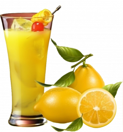 Juice Lemon Fruit Clip art - Iced lemon juice 1216*1307 transprent ...