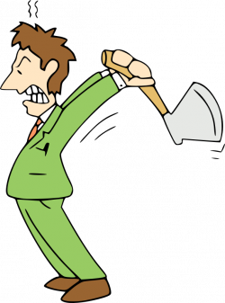 Cartoon Animation Clip art - angry man 592*800 transprent Png Free ...