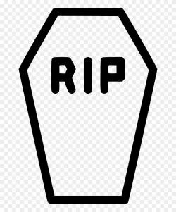 Coffin Casket Rip Death Funeral Comments Clipart (#3002673 ...