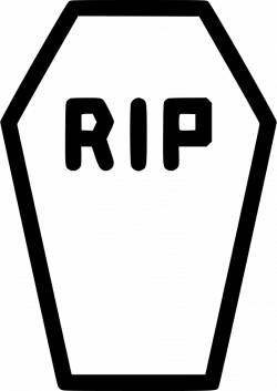 Coffin Casket Rip Death Funeral Comments Clipart - Full Size ...