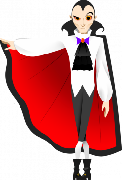 Free Dracula Clipart, 2 pages of free to use images