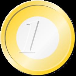 One Euro Coin Clip Art at Clker.com - vector clip art online ...