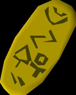Gold seal | Old School RuneScape Wiki | FANDOM powered by Wikia