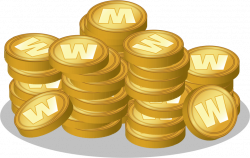 Coin free to use clipart - Clipartix