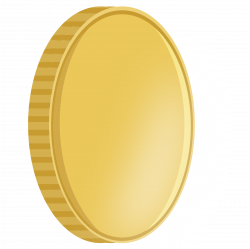 Clipart - Spinning coin 3