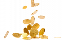 Falling Coins PNG Picture | PNG Mart