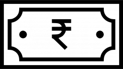 Indian Currency Rupee Note Payment Money Finance Svg Png Icon Free ...