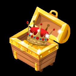 Treasure Jewellery Clip art - Cartoon crown gold coin box 1000*1000 ...