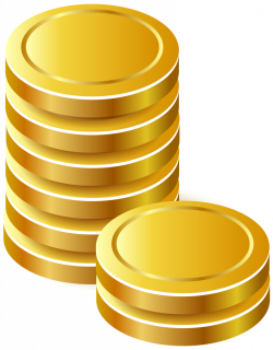 Gold Coins PNG Clipart