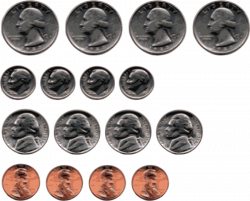 Clipart - US Coins