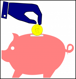 Fascinating Piggy Bank And Icon Saving Investment Concept Royalty ...