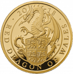 The Queen's Beast - Red Dragon of Wales | The Royal Mint