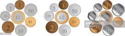 British Coins premium clipart - ClipartLogo.com
