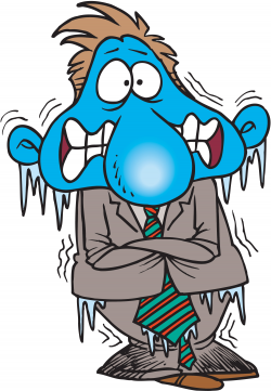 Cold People Clipart