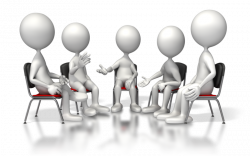 28+ Collection of Group Discussion Clipart Png | High quality, free ...