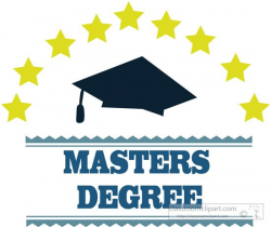 Gallery For > Masters Degree Clipart | Gift ideas in 2019 ...