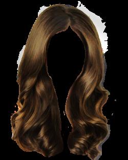 Brown hair Long hair Wig Clip art - Rejoice pull hair clip Free 640 ...