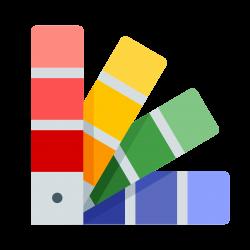 Paleta de colores Icono - descarga gratuita, PNG y vector