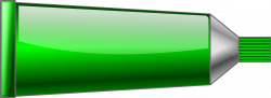 Clipart - Color tube Green