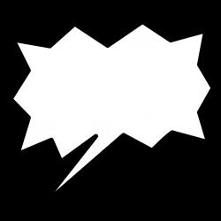 Comic Word Bubble (62+)