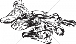 Wrestling Gear | Production Ready Artwork for T-Shirt Printing