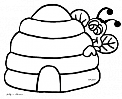 Bee Hive Drawing at GetDrawings.com | Free for personal use Bee Hive ...